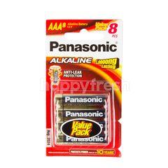 พานาโซนิค ถ่านอัลคาไลน์ ลอง ลาสติ้ง AAA