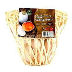 Wong Deso Telur Ayam Kampung Nabati