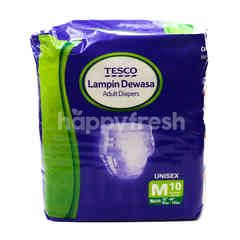 Tesco Adult Diapers (M) Unisex