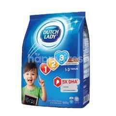 Dutch Lady Milk Powder GUM 123 Chocolate 900g