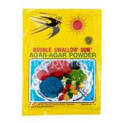 Double Swallow Sun Bubuk Agar-Agar