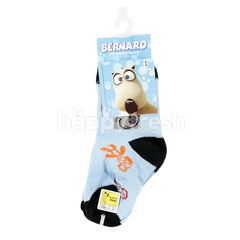 Balmoral Bernard Bear Printed Socks Type 6-07 Size 9-12 for Shoes Size 21-25