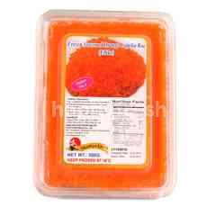 ชิมันโตะ ไข่ปลาเคปปลินปรุงรส สีส้ม แช่แข็ง