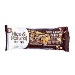 Nice & Natural Bar Kacang dengan Cokelat Almond Crunchy