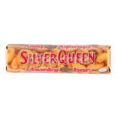 Silver Queen Cokelat Susu Batang dengan Kacang Mede