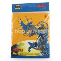 GT Man Kids Batman Boys Singlet Size L Yellow