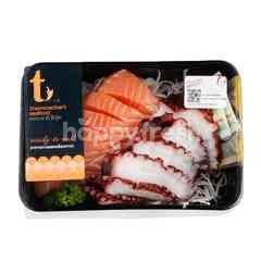 Thammachart Seafood Mako & Salmon Sashimi
