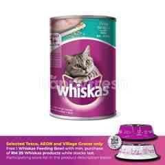 Whiskas Can Cat Wet Food Adult Tuna 400G Cat Food