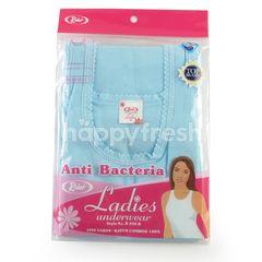 Rider Ladies Underwear Singlet M Blue