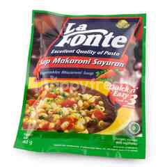 La Fonte Vegetables Macaroni Soup