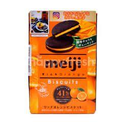 Meiji Orange Flavoured Biscuit