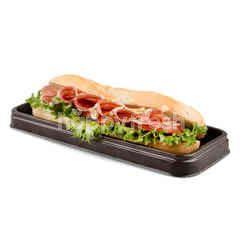 Petit Plaisir Salami And Massdam Sandwich