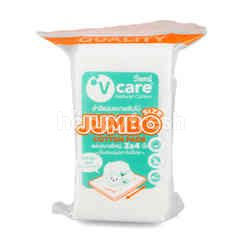 V Care Cotton Pads Size Jumbo 3X4 N