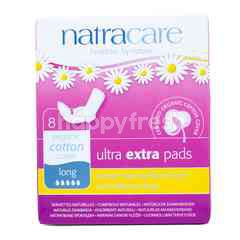 NatraCare Organic Ultra Extra Pads Long