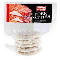 Plain Pork Patties
