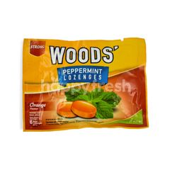 Woods' Strong Peppermint Lozenges Orange