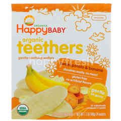 Happybaby Teething Wafer - Sweet Potato & Banana (48g)