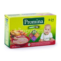 Promina Chicken Tomatoes and Carrot Steamed Porridge for 8-24 Months Baby