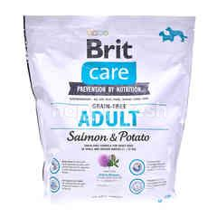 BRIT Brit Care Grain-Free Adult Dog Food - Salmon & Potato