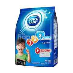 Dutch Lady Milk Powder GUM 123 Plain 900g