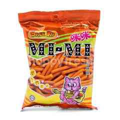 Snek Ku Mi Mi Prawn Flavoured Snacks