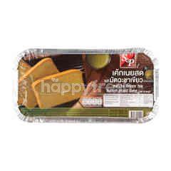 S&P Matcha Green Tea Butter Pound Cake