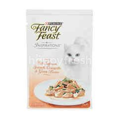 Purina Fancy Feast Inspirations With Salmon, Courgette & Green Beans
