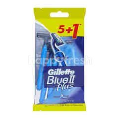 Gillette Blue II Plus (6 Pieces)