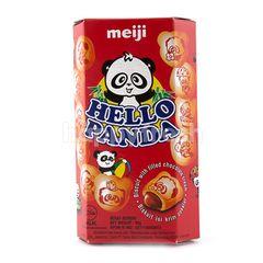 Meiji Hello Panda Cokelat