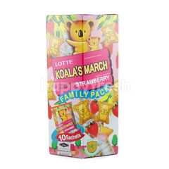 Lotte Family Pack Koala's March Chocolate (10 Sachets)