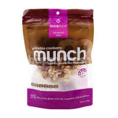 Think Food Pistachio Cranberry Munch Slow Dry Roasted Nutritious Snack