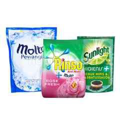 Unilever Rinso, Molto, Sunlight Ultimate Cleaning Kit 4