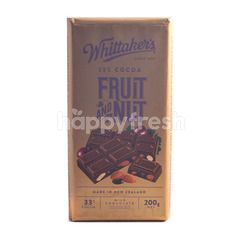 Whittaker's 33% Cocoa Fruit & Nut Milk Chocolate