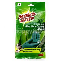 Scotch-Brite Aloe Vera Coated Gloves S