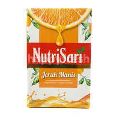 NutriSari Minuman Serbuk Rasa Jeruk Manis