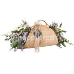 Heartis Flower Wrap Of DIRed Flowers