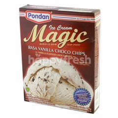 Pondan Bubuk Es Krim Rasa Vanila Choco Chips