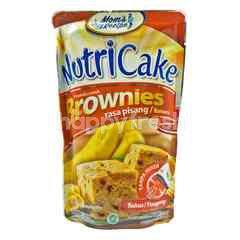 Nutri Cake Tepung Premiks Brownies Rasa Pisang