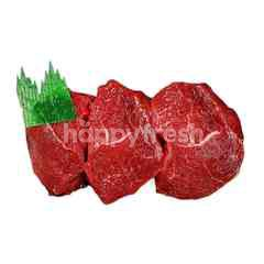 True Aussi Beef Aust Grain-Fed Chilled Chuck Tender