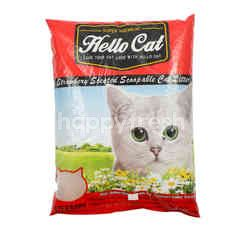 Hello Cat Strawberry Cat Litter