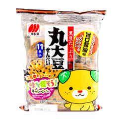 Sanko Marudaizu Senbei (Rice Cracker With Black Bean)