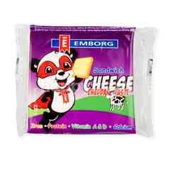 Emborg Sandwich Cheese Cheddar Slices