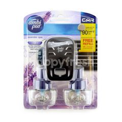 AMBI PUR Car Premium Clip Lavender Spa With Free Refill
