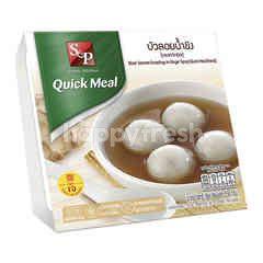 S&P Black Seasame Dumplings in Ginger Syrup