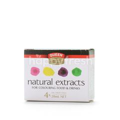QUEEN Natural Extracts For Colouring Food & Drinks