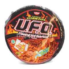Nissin UFO Flaming Hot Seafood Instant Fried Ramen