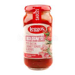 Leggo's Bolognese with Bacon, Chunky Tomato & Herbs