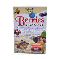 Radiant Whole Food Organic Berries Breakfast Cereal