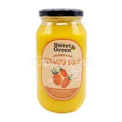 Sweet & Green Yellow Tomato Soup