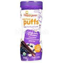 Happybaby Puffs - Purple Carrot & Blueberry (60g)